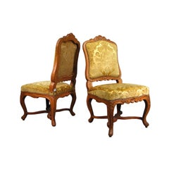 Pair of Regence Period Chairs in Pearwood, France c. 1720