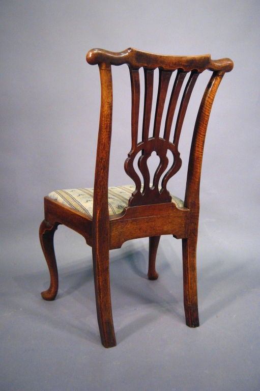 Fine George I Period Chair in Walnut, England, c. 1720 In Excellent Condition In Atlanta, GA