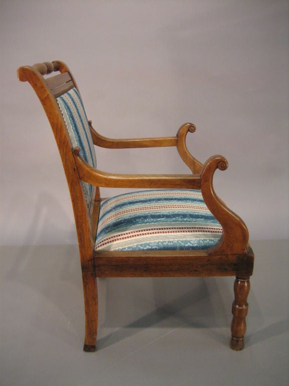 provencial louis philippe fauteuil in walnut c 1840 for sale at 1stdibs