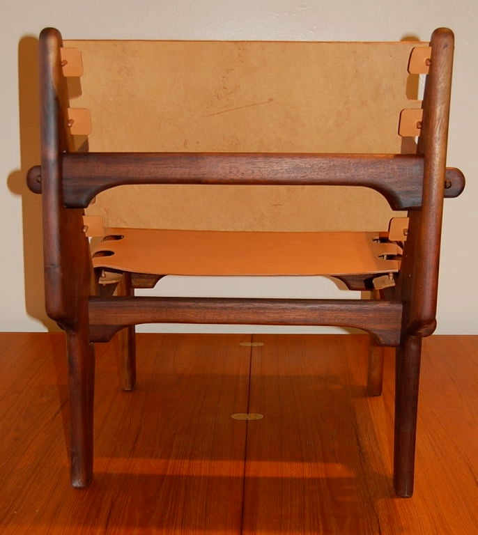 Exotic woods studio craft chair at stdibs