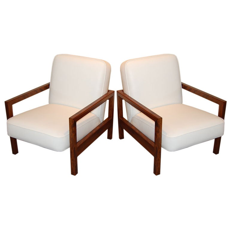 Rare George Nelson Lounge Chairs At 1stdibs