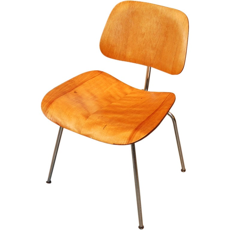 evans dcm eames chair at 1stdibs
