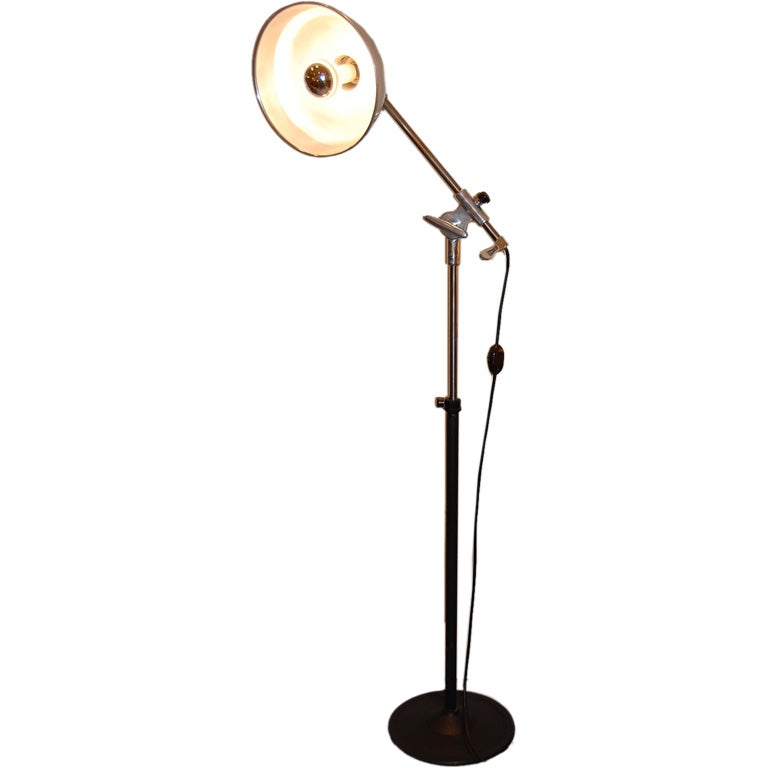 Vintage Medical Floor Lamp At 1stdibs