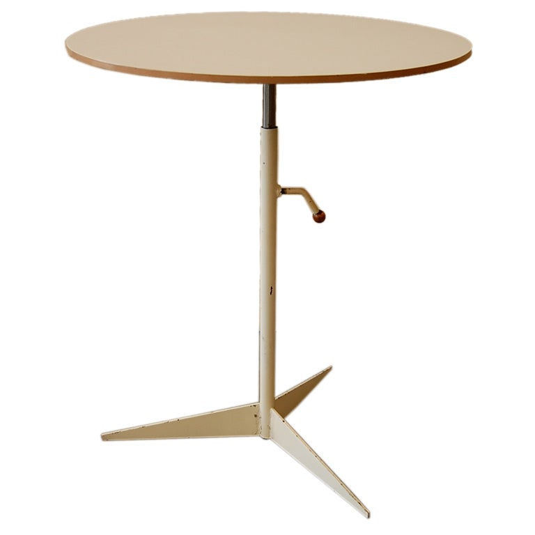 Adjustable Side Table For Recliner: Tony Paul Adjustable Side Table At 1stdibs