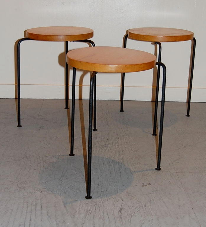 Luther Conover Stools Tables at 1stdibs