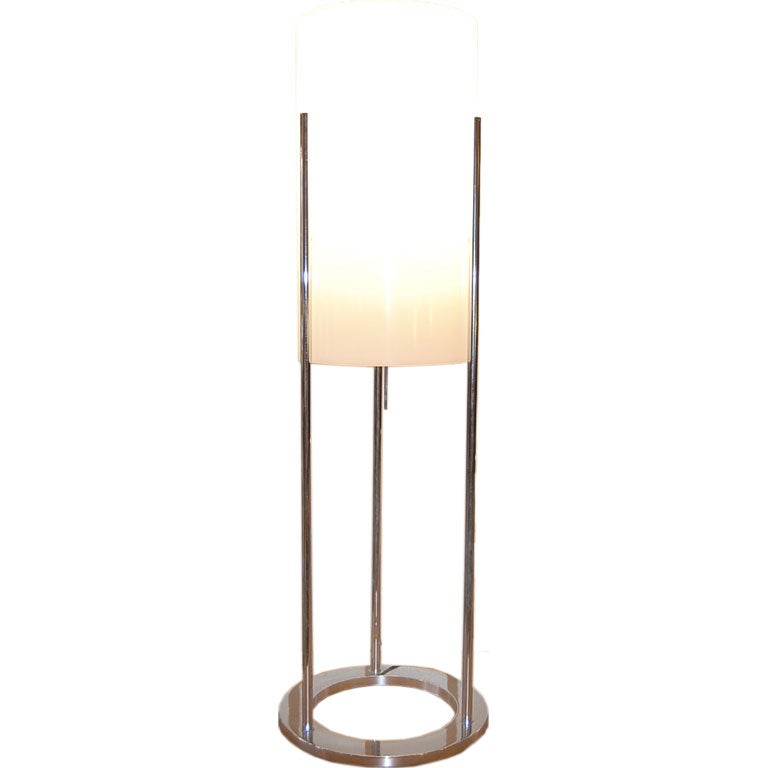 7039s modernist chrome and arcylic habitat table lamp at for Habitat chrome floor lamp