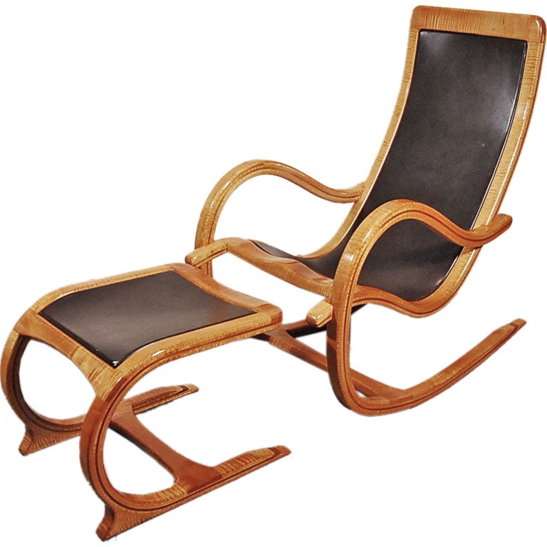 This California Studio Rocking Chair & Ottoman is no longer available.