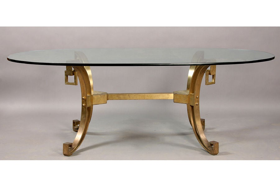 Modern Dining Table With Bronze Base at 1stdibs : 1372622 from www.1stdibs.com size 900 x 600 jpeg 36kB