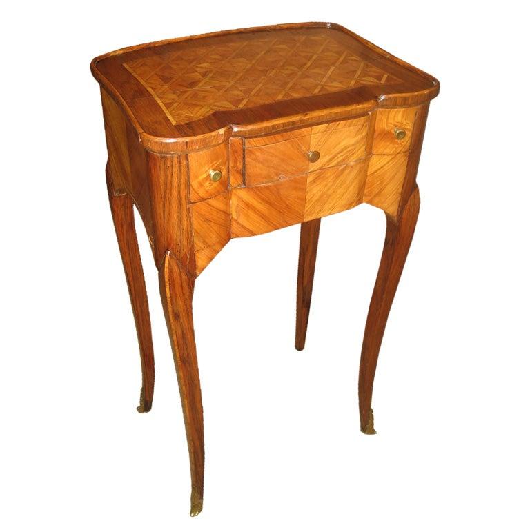 18th century louis xv table a ecrire at 1stdibs - Table de chevet louis xv ...