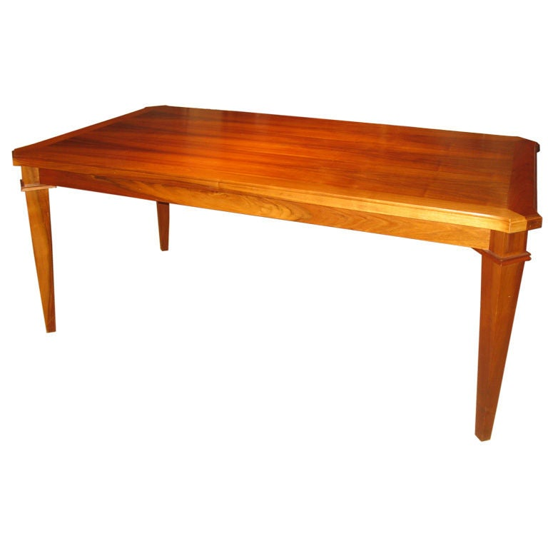 French 40 39 S Walnut Dining Table At 1stdibs