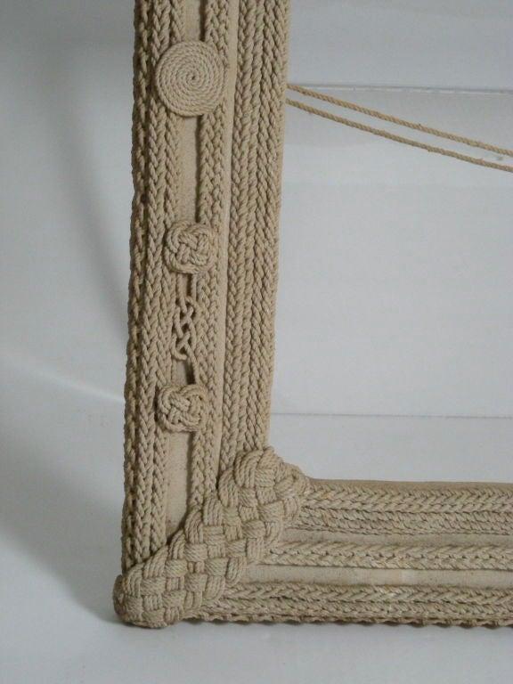 Nautical Rope Frame At 1stdibs
