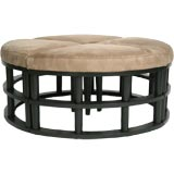 UPHOLSTERED SECTIONAL OTTOMAN