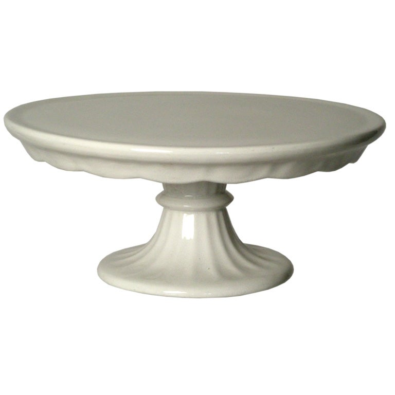 Ironstone Cake Stand For Sale