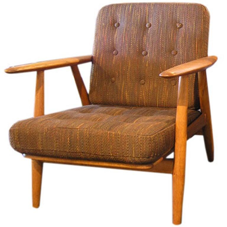 Easy Chair by Hans Wegner at 1stdibs
