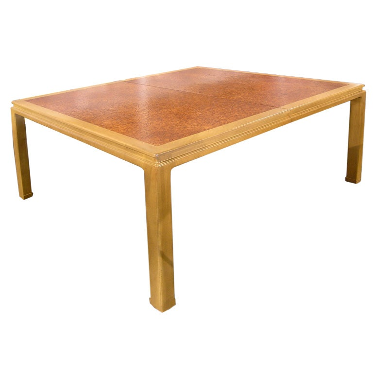 Cork Dining Table By Edward Wormley For Dunbar At 1stdibs