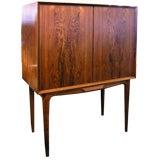 Danish Rosewood Dry Bar Cabinet