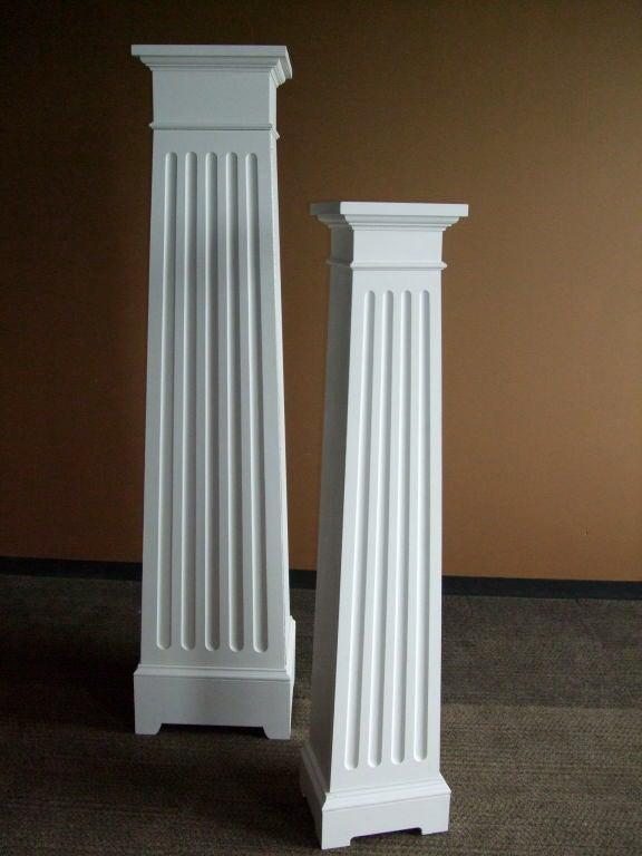 American Custom Column Cupboard For Sale