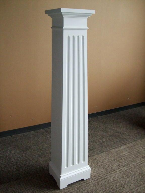 Contemporary Custom Column Cupboard For Sale