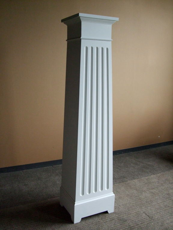 Wood Custom Column Cupboard For Sale