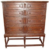 William & Mary Chest on Stand