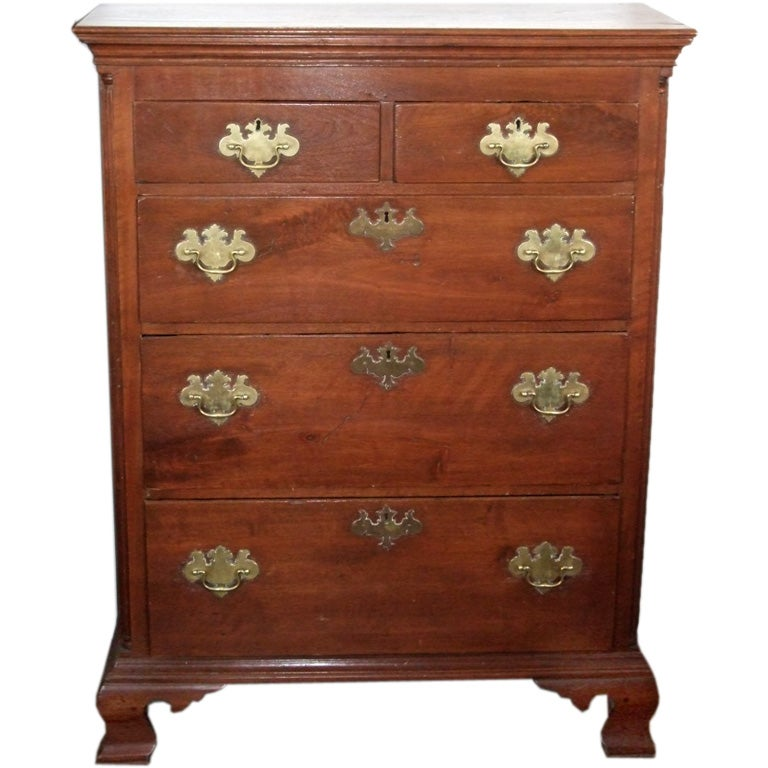 18th Century Chippendale Chest of Drawers