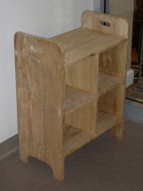 Pair of pine nightstands at 1stdibs for Multi night stand