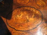 Black Forest Walnut and Marquetry Tilt-Top Table image 4