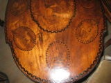 Black Forest Walnut and Marquetry Tilt-Top Table image 6