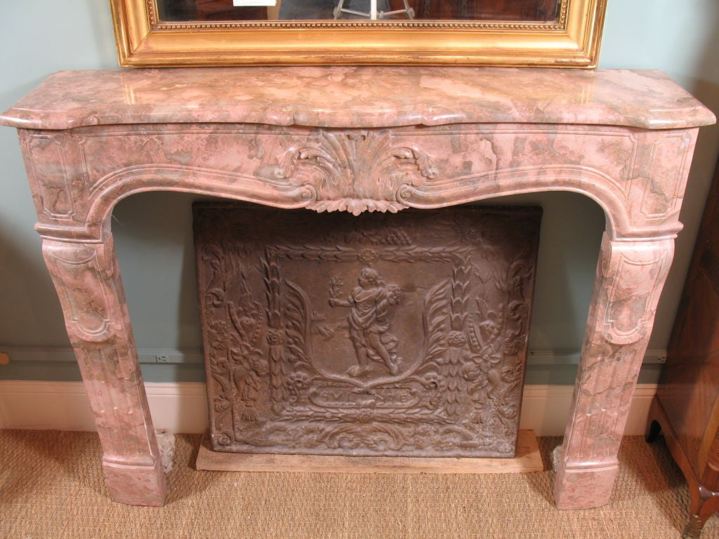 French Marble Fireplace Surround At 1stdibs