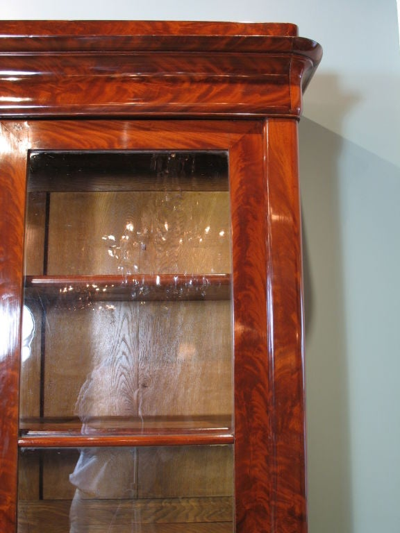 Louis Philippe Mahogany Bibliotheque For Sale 1