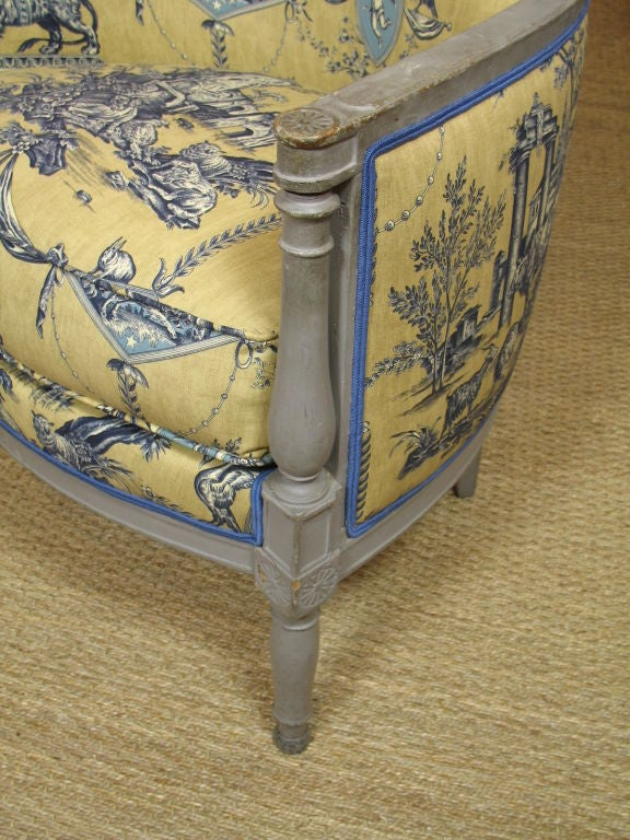 French Directoire Period Bergere For Sale 1
