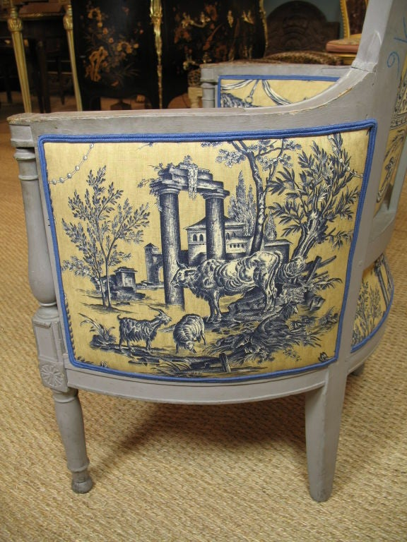 French Directoire Period Bergere For Sale 2