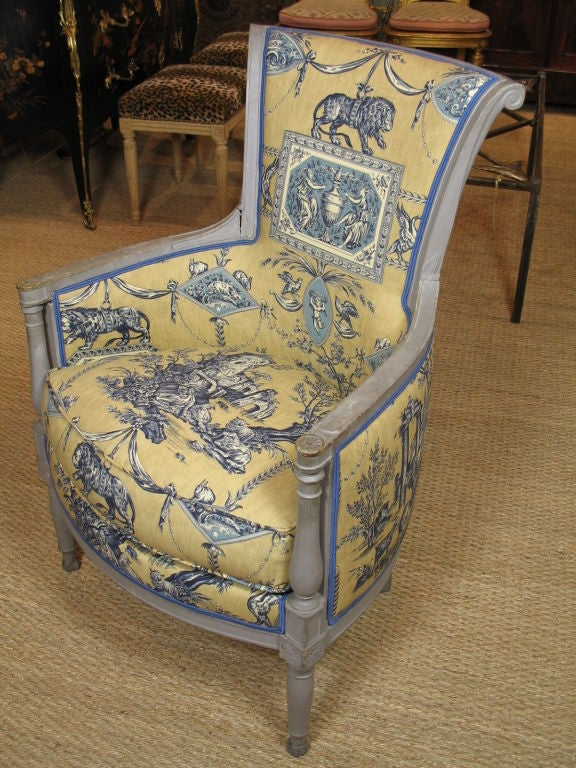 French Directoire Period Bergere For Sale 3