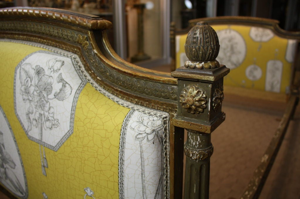 French Louis XVI Period Painted Daybed For Sale 4