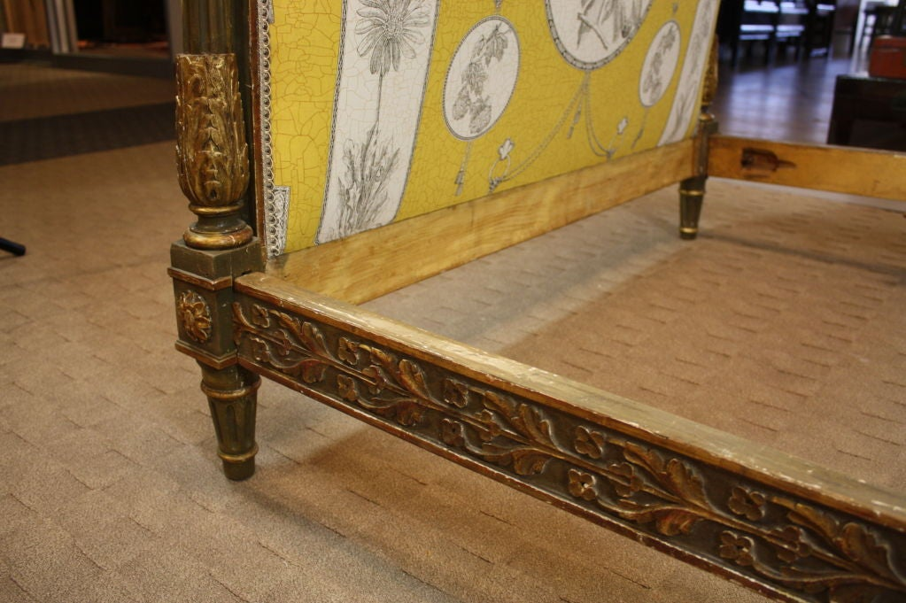 French Louis XVI Period Painted Daybed For Sale 5
