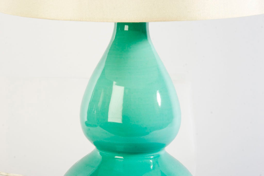 Medium Double Gourd Lamp by Christopher Spitzmiller image 3