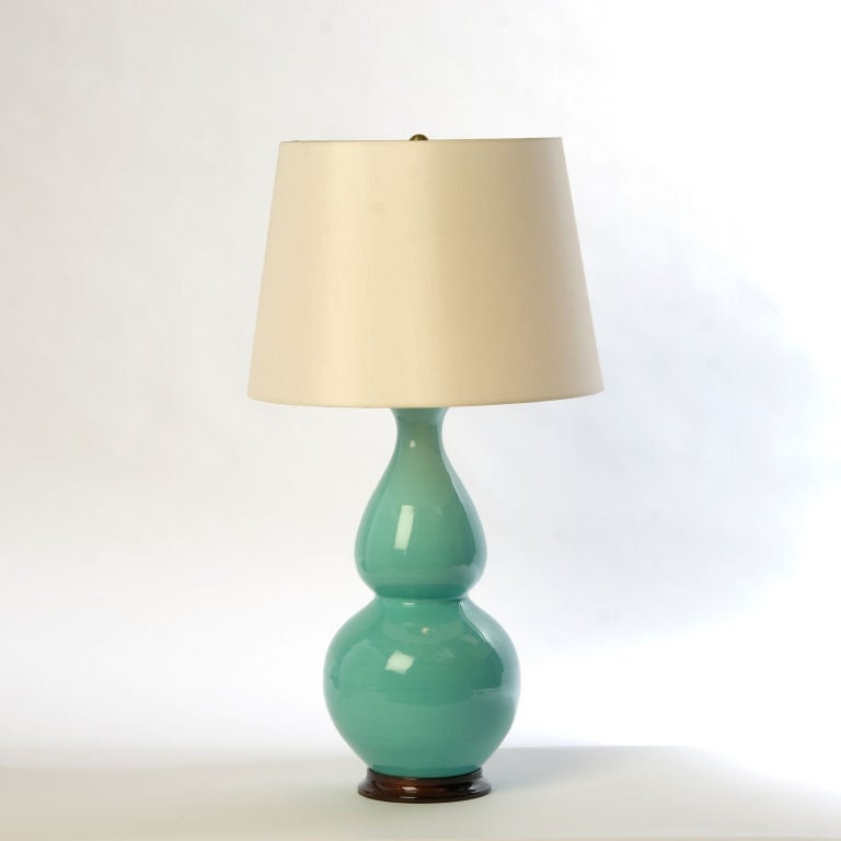 Medium Double Gourd Lamp by Christopher Spitzmiller image 2