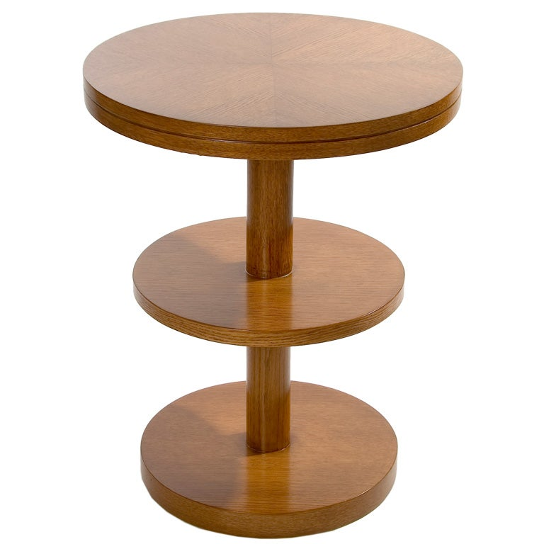 Sale Three Tier Cocktail Table By Johan Tapp At 1stdibs