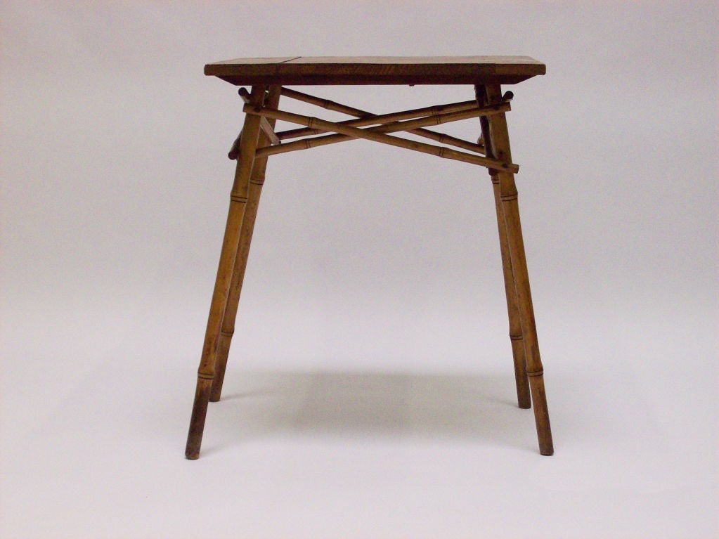 Thonet bamboo table at 1stdibs for Table thonet