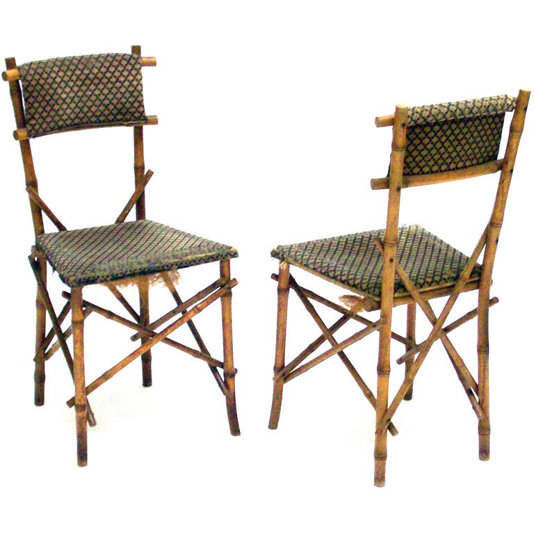 Thonet Bamboo Style Side Chairs At 1stdibs