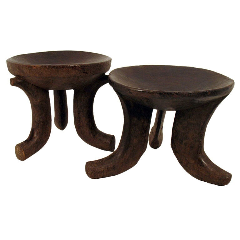 African Fertility Stools At 1stdibs