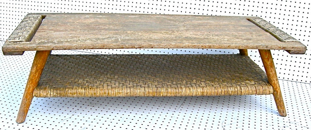Old Hickory Style Coffee Table At 1stdibs