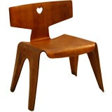 CHARLES EAMES PLYWOOD CHILDS CHAIR