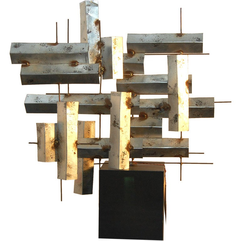 William Friedle , Abstract Metal Sculpture