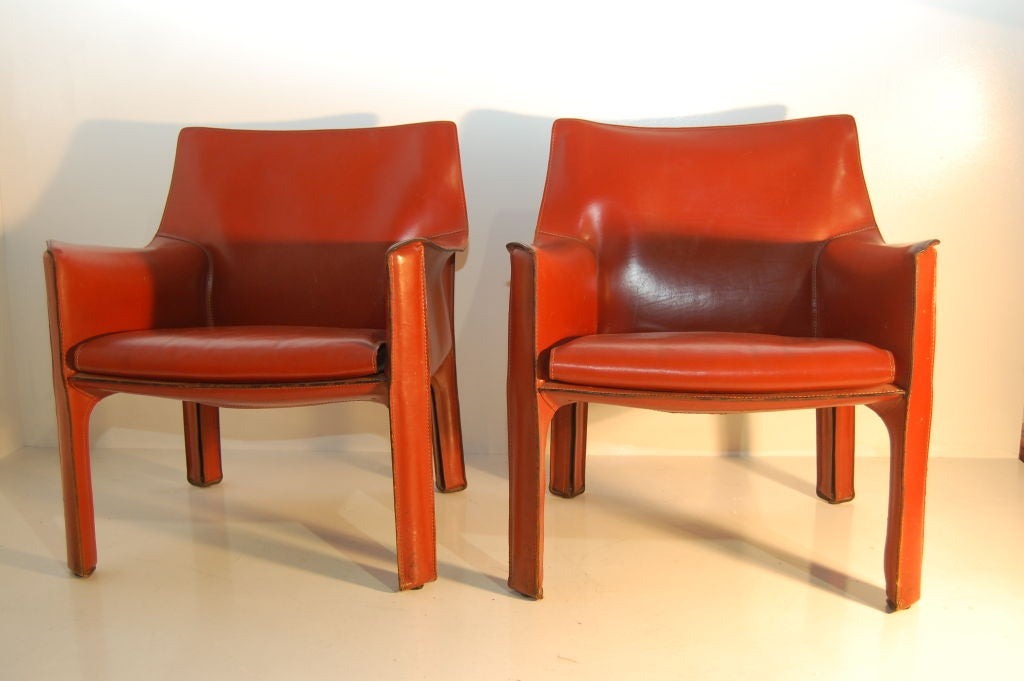Mario Bellini Cab Chairs At 1stdibs