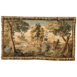 Louis XV Aubusson Landscape tapestry