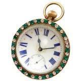 Large Glass Ball Clock