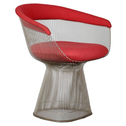 Pair Of Original Warren Platner Dining Chairs For Knoll