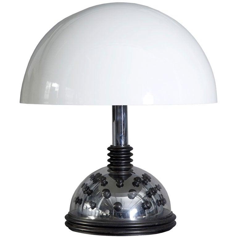 1960s 'Futurist' Table Lamp