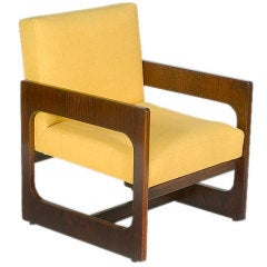 Rare Set of Four Armchairs by Sergio Rodrigues